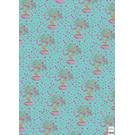 ha708   happiness   bonsai - wrapping paper Bogen 50 x 70 cm