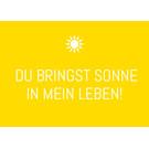 ws077 | Wortsinn | Du bringst Sonne in...  - postcard A6