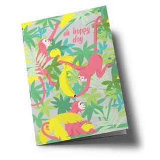 ha331 | happiness | Oh happy day - folding card