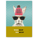 FZ-Y-11610 |  You've Got Post | Too hip to hop - Postcard A6