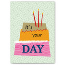 FZ-Y-11604 |  You've Got Post | It's your day - Postcard A6