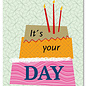 FZYP027 |  You've Got Post | It's your day - Postkarte  A6