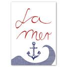 FZ-Y-11524 |  You've Got Post | La Mer - Postcard A6
