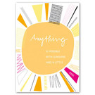 FZ-Y-11521 |  You've Got Post | Anything is possible with sunshine - Postkarte  A6