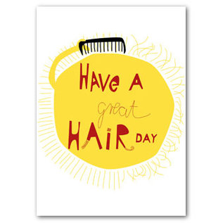 FZYP019 |  You've Got Post | Have a great hair day - Postkarte  A6