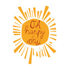 FZYP013 |  You've Got Post | Oh happy day - Postkarte  A6