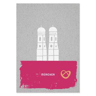 FZGC017 |  Gray-Code | München - Holzschliffpappe A6