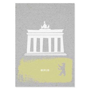 FZGC014 |  Gray-Code | Berlin - Holzschliffpappe A6