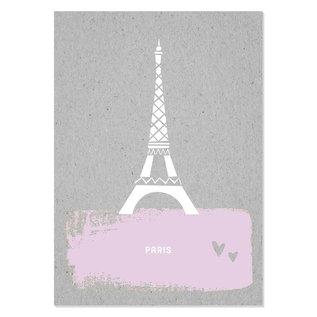 FZGC013 |  Gray-Code | Paris - Holzschliffpappe A6