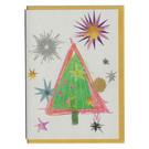 FZ-X-51702 |  Xmas Cards | One Tree - folding card A6