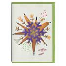 FZ-X-51703 |  Xmas Cards | Merry Merry Merry - folding card A6
