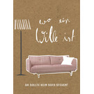 FZ-TO-68003    Time Out   Where there is a will... - Wood pulp cardboard A6