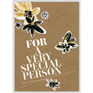 FZ-TO-67012    Time Out   For a very special person - wood pulp cardboard A6