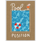 FZTO014    Time Out   Pool Position - wood pulp cardboard A6