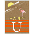 FZTO002    Time Out   Happy U - wood pulp cardboard A6