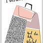 FZSW011    Style For A While   I Want It All - wood pulp cardboard A6