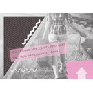 FZ-L-18806 |  Love & Peace | She turned her cant's into cans... - Postkarte  A6