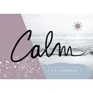 FZ-L-18804 |  Love & Peace | Calm is a superpower - Postkarte  A6