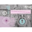FZ-L-18801 |  Love & Peace | Der Schlüssel zum Glück steckt von innen - Postkarte  A6