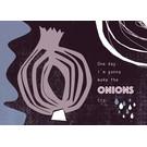 FZ-K-17703 |  Karma Is A Bitch | One day I'm gonna make the onions cry - Postkarte  A6