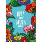 IL0246 | illi | Primula Glückwunsch - Post Card A6