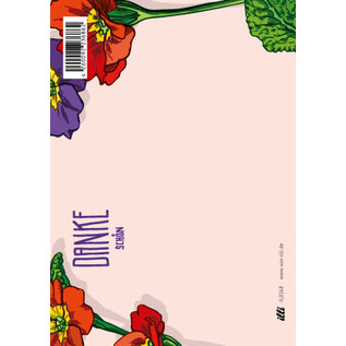 IL0248 | illi | Primula  - Dankeschön -PostCard A6