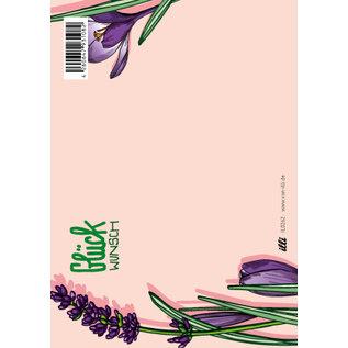 IL0262 | illi | Ponko Glückwunsch - Postkarte A6