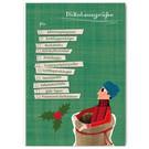 FZYPX11 |  Xmas Karten | Nikolausgrüße für Jungs - Postkarte  A6