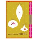 FZ-X-216021 |  Xmas Karten | Weihnachten. Frohe! - folding card A6
