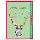 FZ-X-216023 |  Xmas Karten | Joyful Days - folding card A6