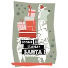 FZ-X-28106 |  Xmas Cards | Come Se Llama? Santa! - Postcard A6