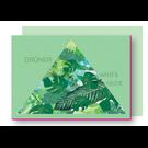 Xmas Karten Mit Umschlag FZ-X-37702 |  Xmas Karten | Grüner wirds nicht - Holzschliffpappe A6