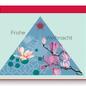 FZ-X-37703 |  Xmas Karten | Frohe Weihnachten - Holzschliffpappe A6