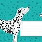 cc630   crissXcross    dalmatian - Envelope set C6