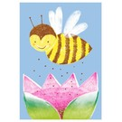 SG210   schönegrüsse   Bee - postcard A6