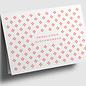 gx300 | Graphixx |   rhombus - orange - bold - Herzlichen Glückwunsch -  folding card  C6