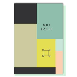 Geometric FZ-GE-010    Geometric   Mutkarte - folding card