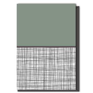 FZTH-002 |  Think | Folding Card
