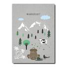 FZGC034 |  Gray-Code | Wanderlust - Holzschliffpappe A6