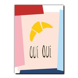 FZPA006 | Pastellica | Oui Oui - Postkarte A6