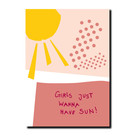 FZPA008 | Pastellica | Girls...- Postkarte A6