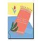 FZPA011 | Pastellica | Ich bin schon völlig... - Postkarte A6