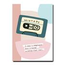 Pastellica FZ-PA-015 | Pastellica | MIXTAPE - Postkarte A6