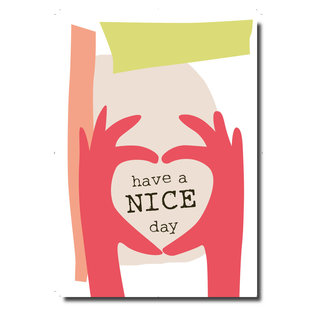 FZPA016 | Pastellica | Have a NICE day – Post Card A6