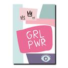 FZPA019 | Pastellica | GRL PWR - Postkarte A6