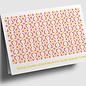 gx306 | Graphixx | Florales Ornamet - Herzlichen Glückwunsch - Klappkarte  C6