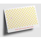 gx308 | Graphixx |Zum Geburtstag alles Liebe - folding card  C6