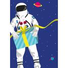 cc183 | crissXcross | Astronaut - Postkarte A6