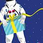 cc183   crissXcross   Astronaut - Postcard A6