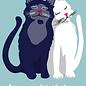 cc182 | crissXcross | Cats - Postcard A6